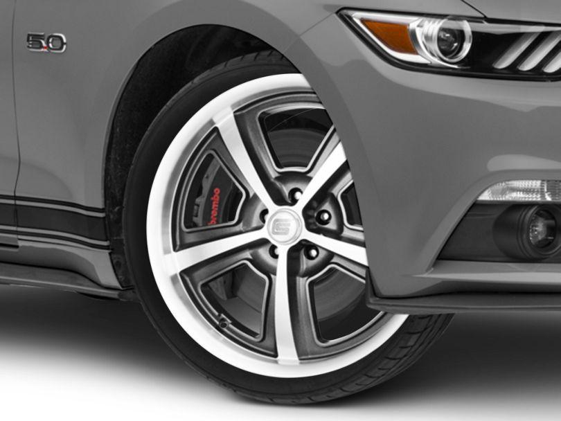 Shelby CS69 Hyper Black Wheel - 20x9 (15-20 GT, EcoBoost, V6)