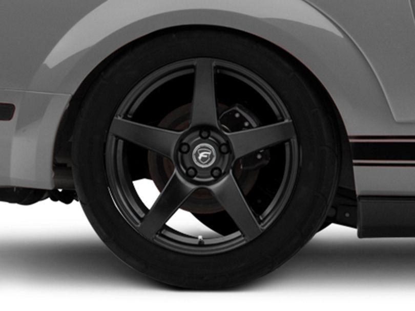 Forgestar CF5 Monoblock Matte Black Wheel - 19x10 - Rear Only (05-09 All)