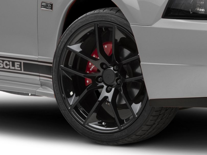 Magnetic Style Black Wheel; 19x8.5 (99-04 All)