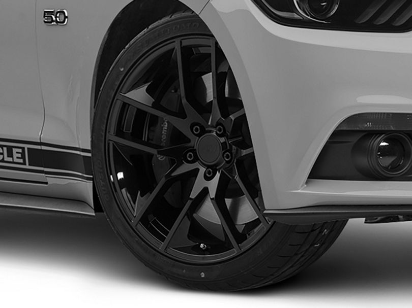 Magnetic Style Black Wheel; 20x8.5 (15-20 GT, EcoBoost, V6)
