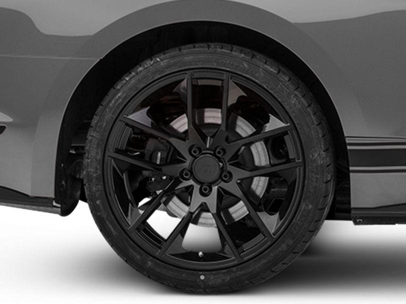Magnetic Style Black Wheel - 20x10 - Rear Only (15-20 GT, EcoBoost, V6)
