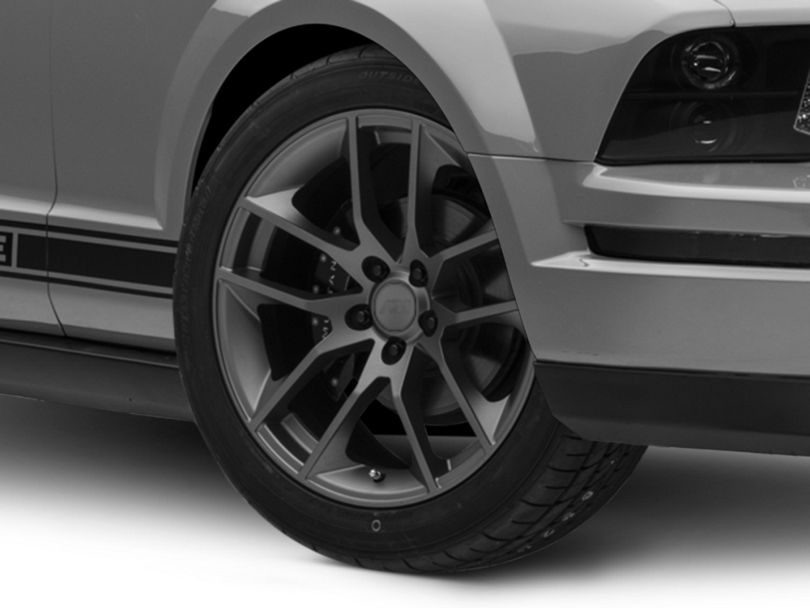 Magnetic Style Charcoal Wheel - 19x10 - Rear Only (05-09 All)