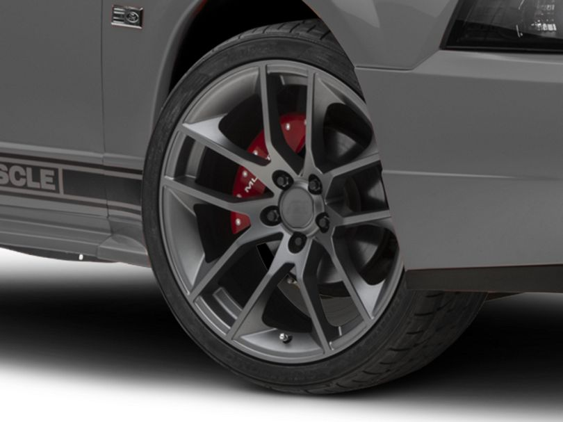 Magnetic Style Charcoal Wheel; 19x8.5 (99-04 All)