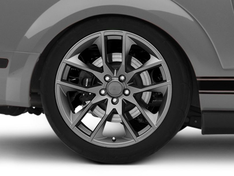 Magnetic Style Charcoal Wheel - 20x10 - Rear Only (05-09 All)