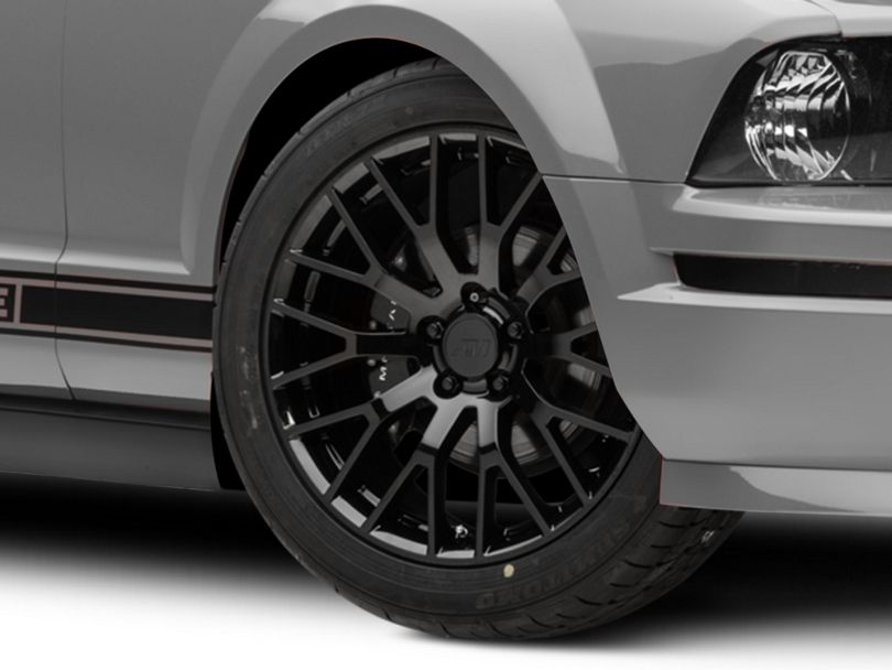 Performance Pack Style Black Wheel - 19x8.5 (05-09 All)