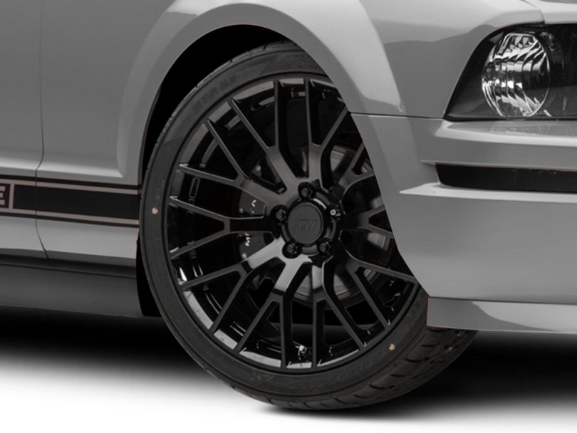 Performance Pack Style Black Wheel - 20x8.5 (05-09 All)