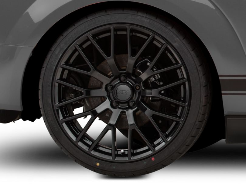 Performance Pack Style Black Wheel; Rear Only; 20x10 (05-09 All)