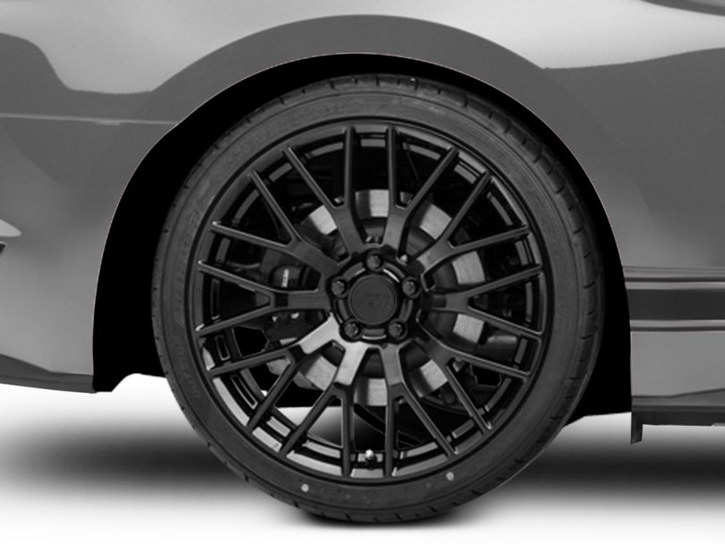 Performance Pack Style Black Wheel; Rear Only; 20x10 (15-20 GT, EcoBoost, V6)