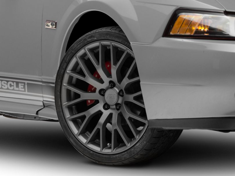 Performance Pack Style Charcoal Wheel; 19x8.5 (99-04 All)