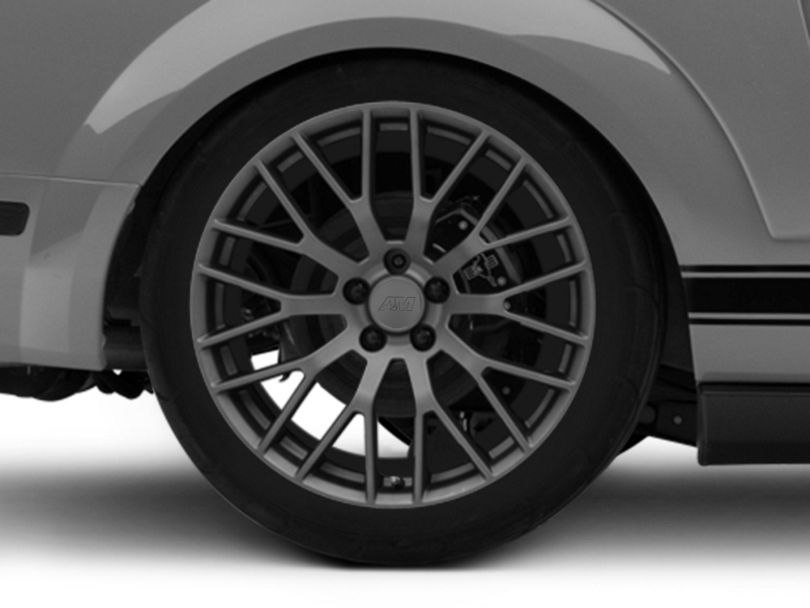Performance Pack Style Charcoal Wheel - 20x10 - Rear Only (05-09 All)
