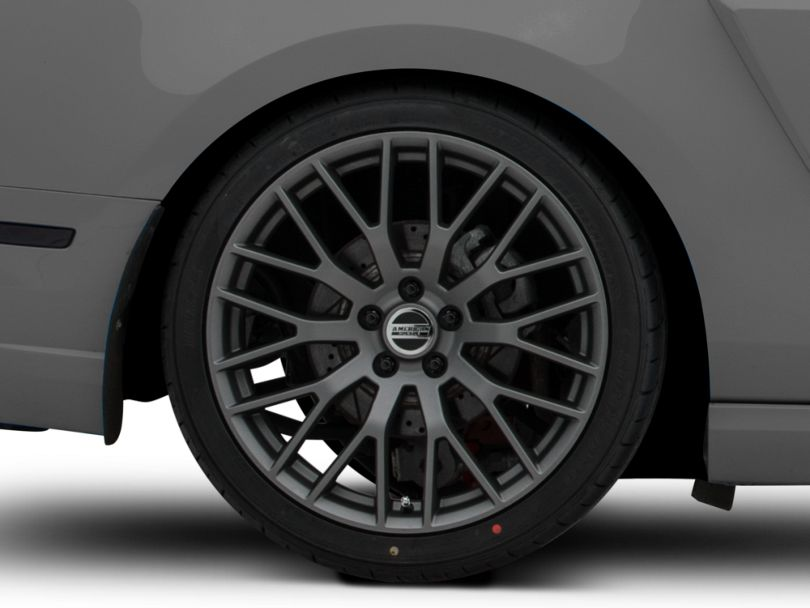 Performance Pack Style Charcoal Wheel; Rear Only; 20x10 (10-14 All)