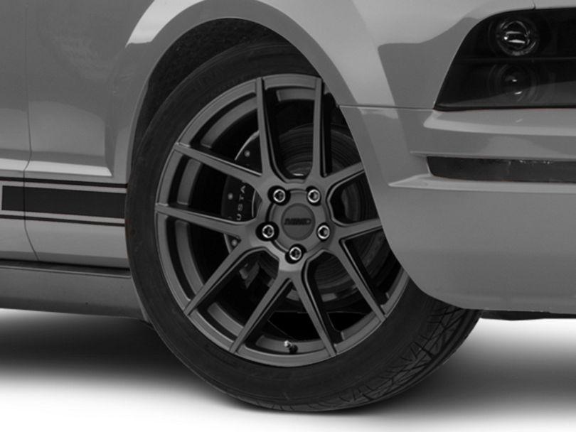 MMD Zeven Charcoal Wheel - 19x8.5 (05-09 All)