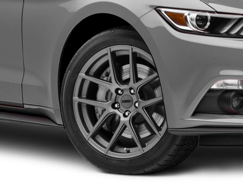 MMD Zeven Charcoal Wheel; 19x8.5 (15-20 GT, EcoBoost, V6)