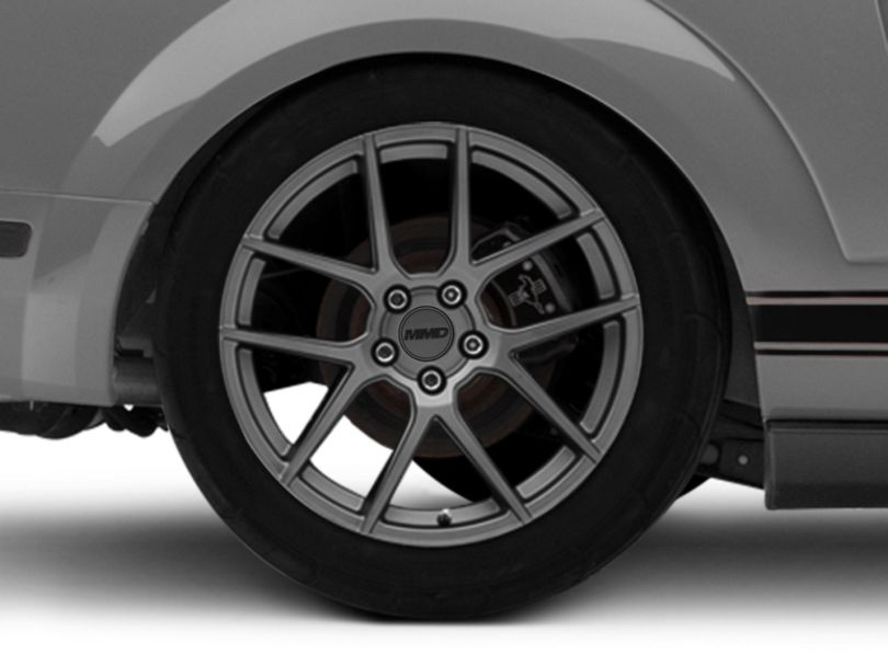 MMD Zeven Charcoal Wheel - 19x10 - Rear Only (05-09 All)