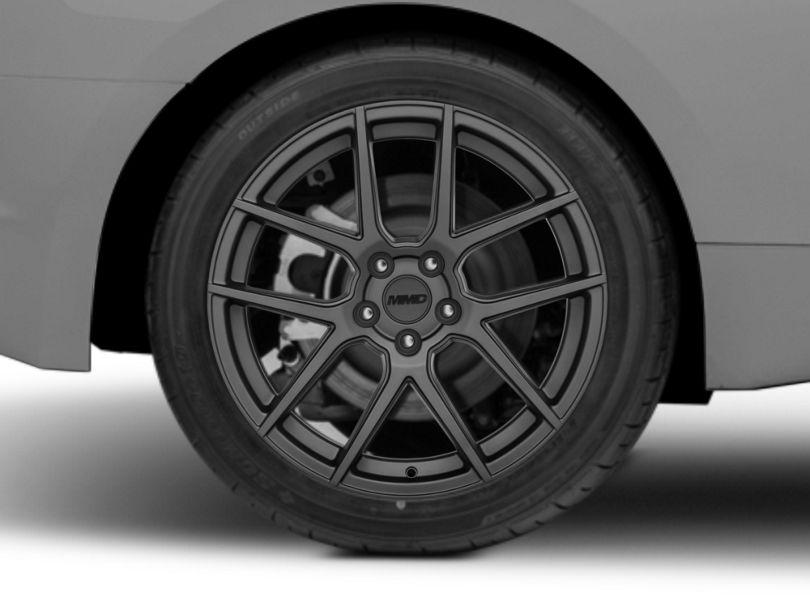 MMD Zeven Charcoal Wheel; 19x10; Rear Only (15-20 GT, EcoBoost, V6)