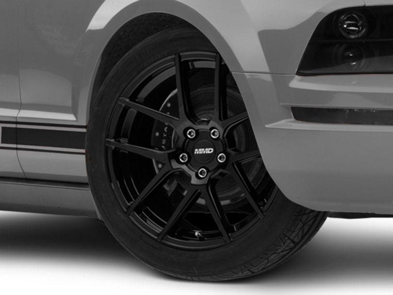 MMD Zeven Black Wheel; 19x8.5 (05-09 All)