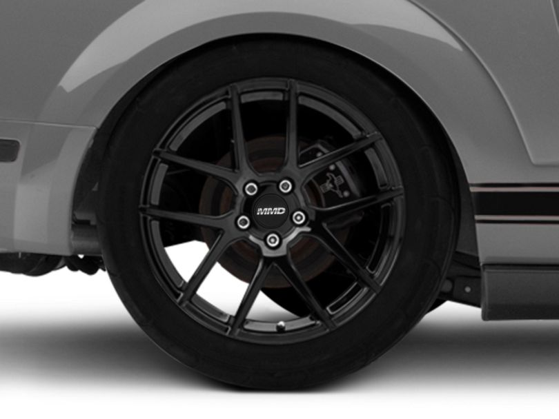 MMD Zeven Black Wheel - 19x10 - Rear Only (05-09 All)