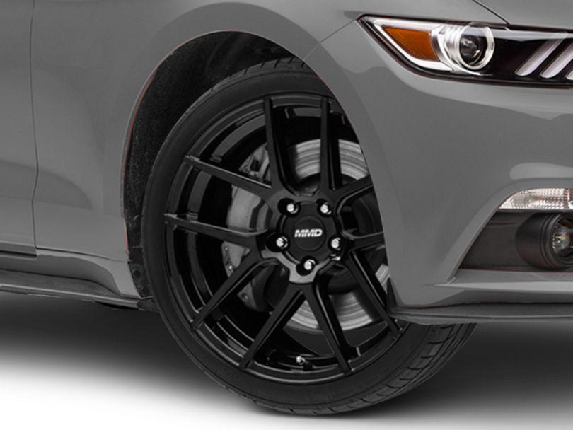 MMD Zeven Black Wheel - 20x8.5 (15-20 GT, EcoBoost, V6)