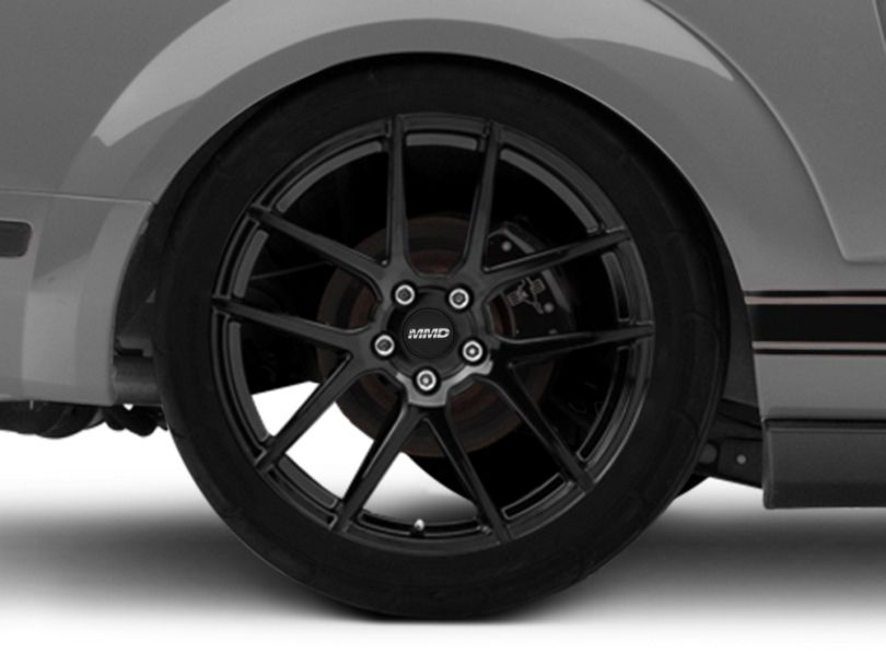MMD Zeven Black Wheel - 20x10 - Rear Only (05-09 All)