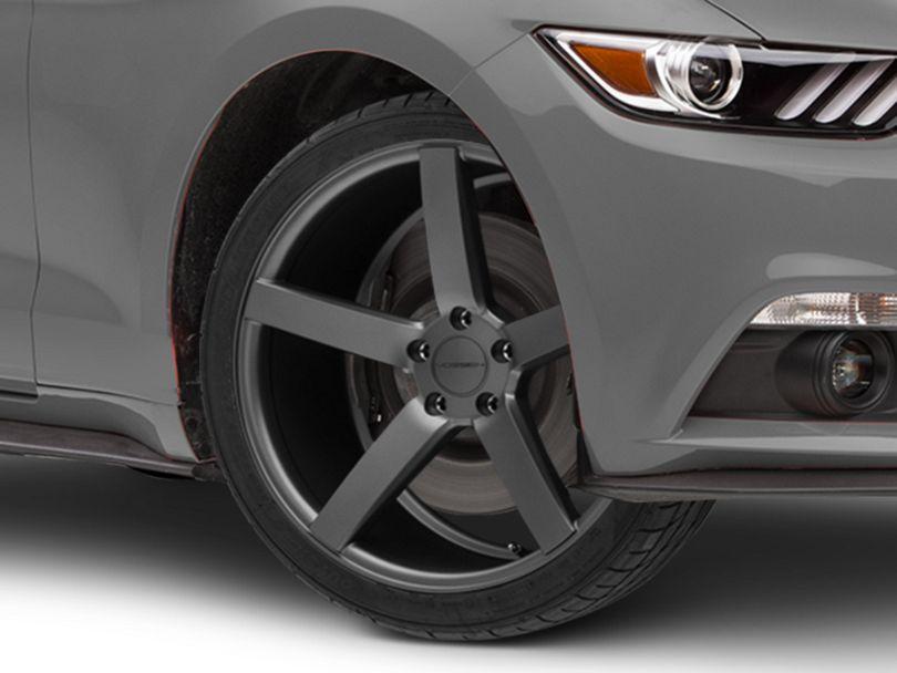 Vossen CV3-R Graphite Wheel; 20x9 (15-20 GT, EcoBoost, V6)