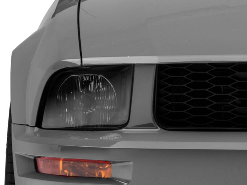 Axial Euro Headlights; Black (05-09 GT, V6)