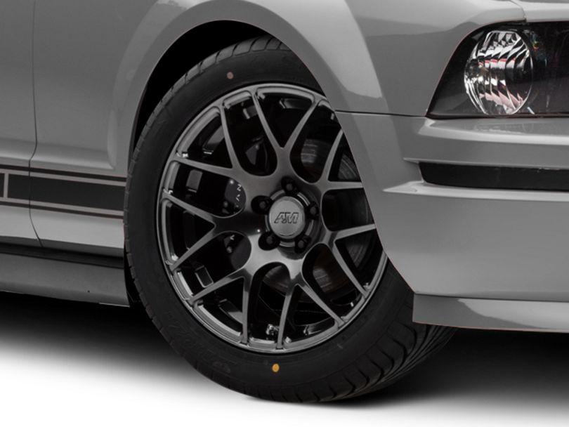 AMR Dark Stainless Wheel; 18x8 (05-09 All)