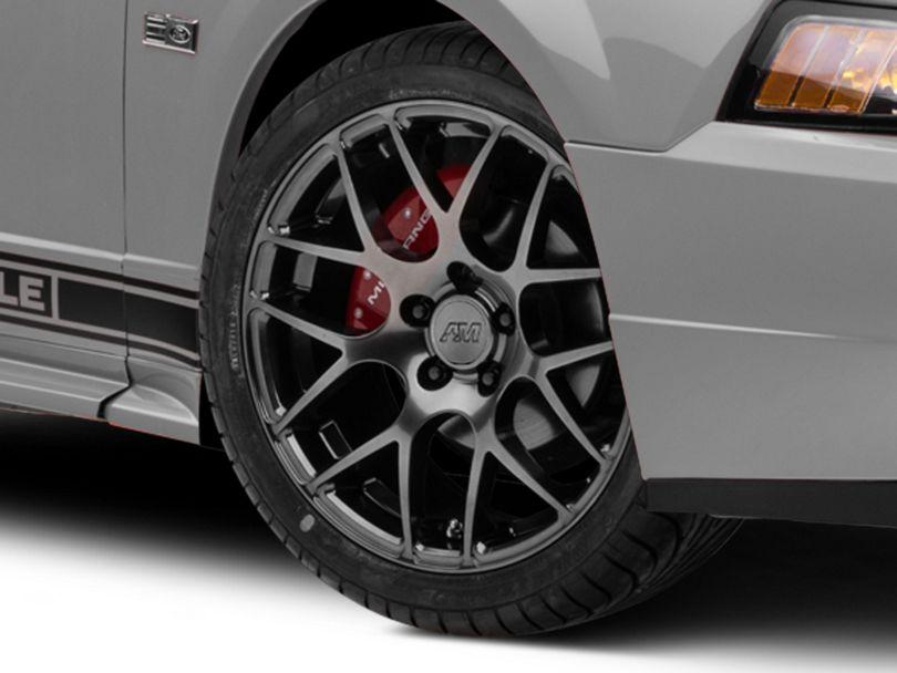AMR Dark Stainless Wheel; 18x8 (99-04 All)