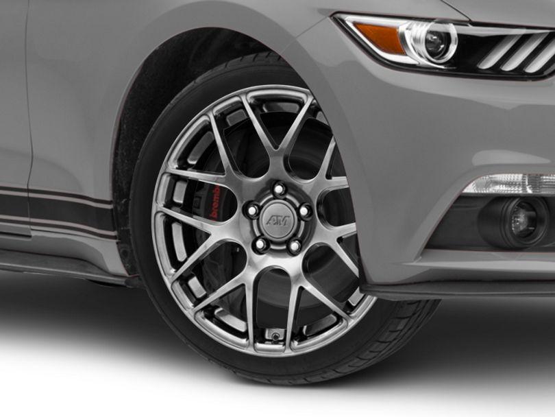 AMR Dark Stainless Wheel - 18x9 (15-20 EcoBoost, V6)