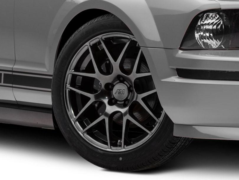 AMR Dark Stainless Wheel; 19x8.5 (05-09 All)