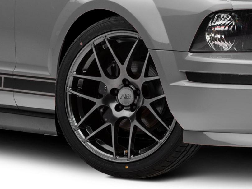 AMR Dark Stainless Wheel; 20x8.5 (05-09 All)