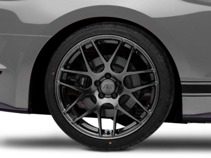 AMR Dark Stainless Wheel; Rear Only; 20x10 (15-20 GT, EcoBoost, V6)