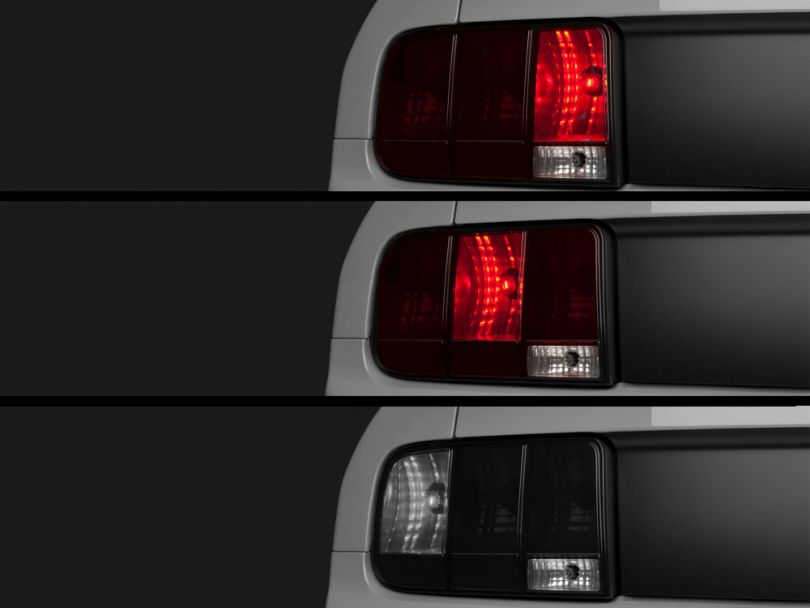Axial LED Sequential Chase Tail Light Kit; Plug-and-Play (05-09 All)