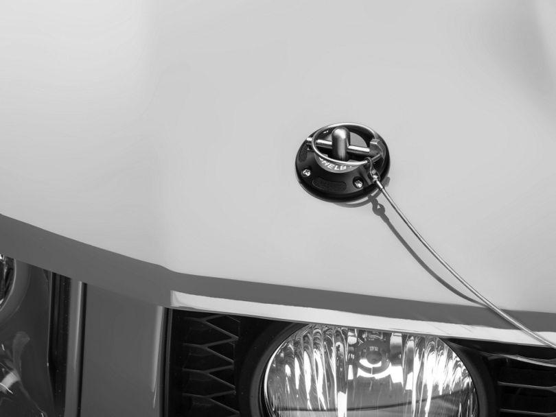 Shelby Black Aluminum Hood Pin Kit (05-09 All)