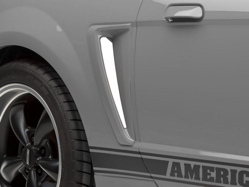 Modern Billet Stainless Steel Side Scoop Insert Set (99-00 GT; 99-04 V6)