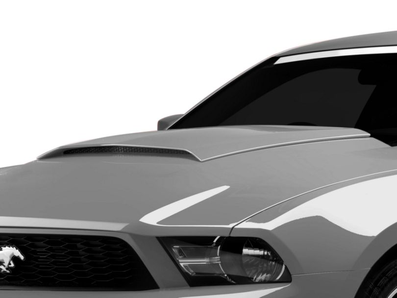 SpeedForm Hood Scoop; Unpainted (10-12 GT, V6)