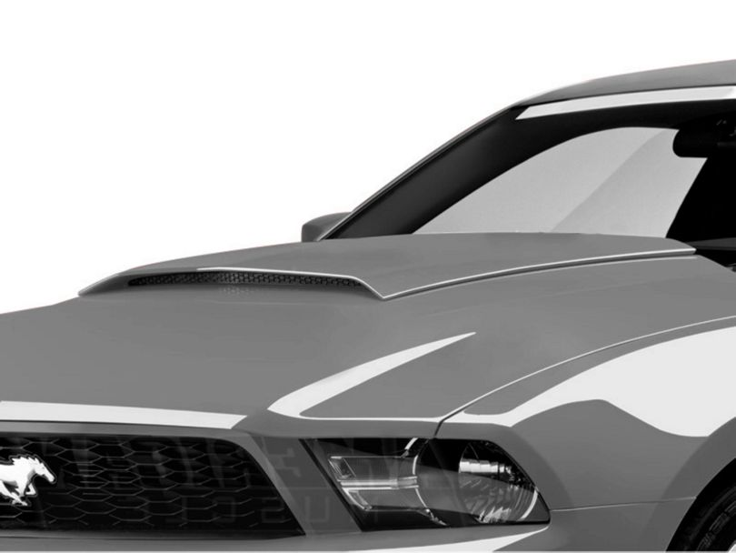 SpeedForm Hood Scoop; Pre-Painted (10-12 GT, V6)