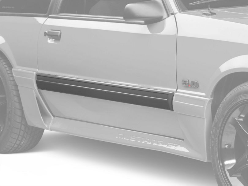 OPR Right Side Door Molding (87-93 GT)