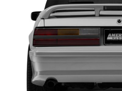 Add Replacement Cobra Style Tail Light Lens - Left Side (87-93 All)