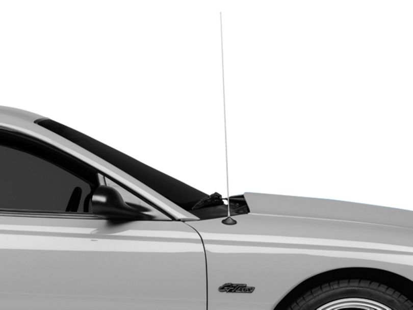 OPR Fixed Stainless Steel Antenna; 30-Inch (79-98 All)