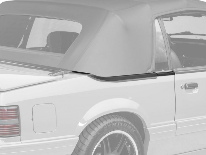 OPR Convertible Top Boot Well Molding - Right Side (87-93 Convertible)