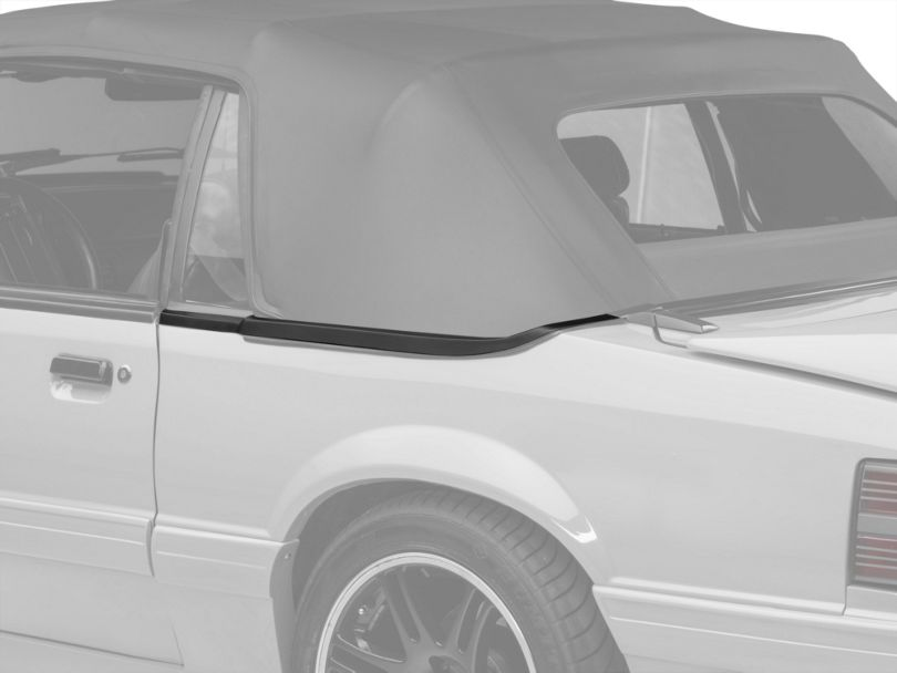 OPR Convertible Top Boot Well Weatherstripping; Left Side (87-93 Convertible)