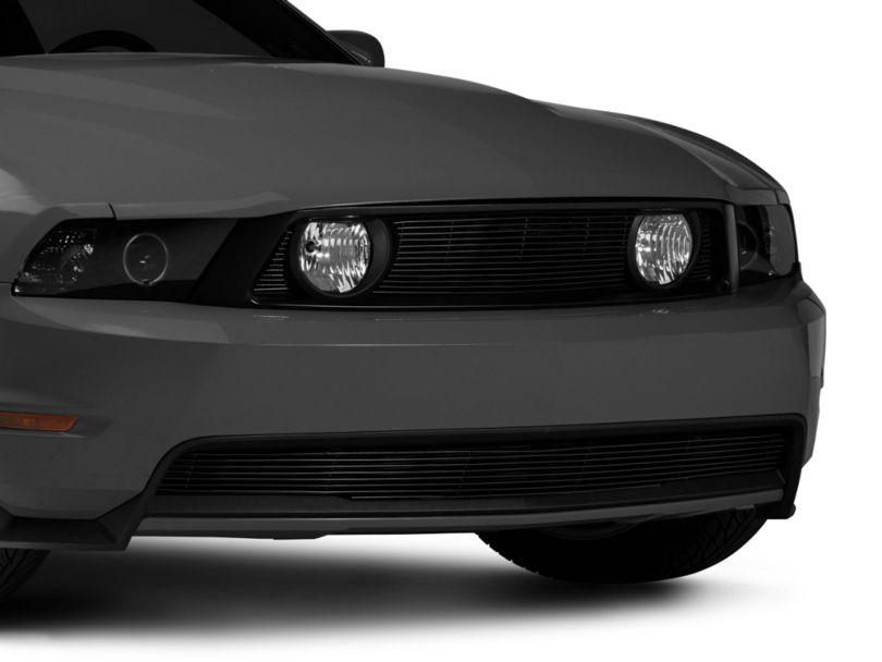 Modern Billet Pony Delete Billet Grille - Black (10-12 GT)