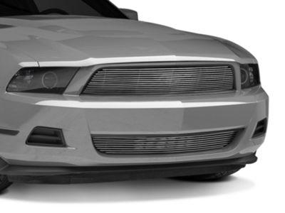 Modern Billet Pony Delete Billet Grille - Combo - Polished (10-12 V6)