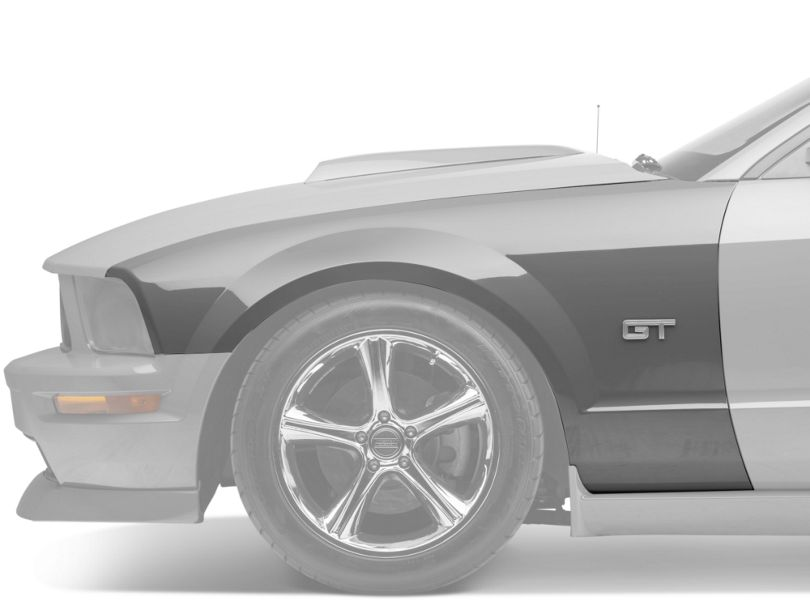 OPR Replacement Fender; Left Side; Unpainted (05-09 GT, V6)