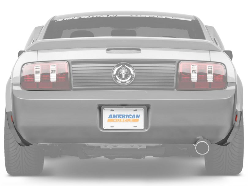 OPR Rear Bumper Cover; Unpainted (05-09 V6)