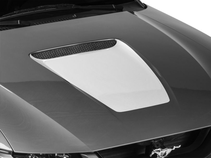American Muscle Graphics White Hood Decal (99-04 GT; 99-02 V6)