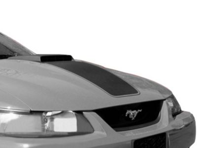 American Muscle Graphics Black Mach 1 Hood Decal (03-04 Mach 1; 99-04 w/ CDC Shaker Systems)