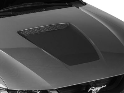 American Muscle Graphics Matte Black Hood Decal (99-04 GT; 99-02 V6)