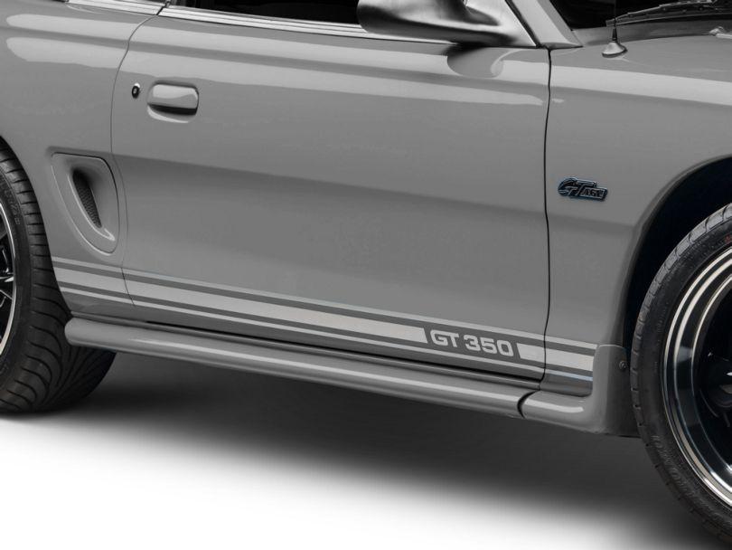 American Muscle Graphics Silver Rocker Stripes w/ GT350 (94-04 All)