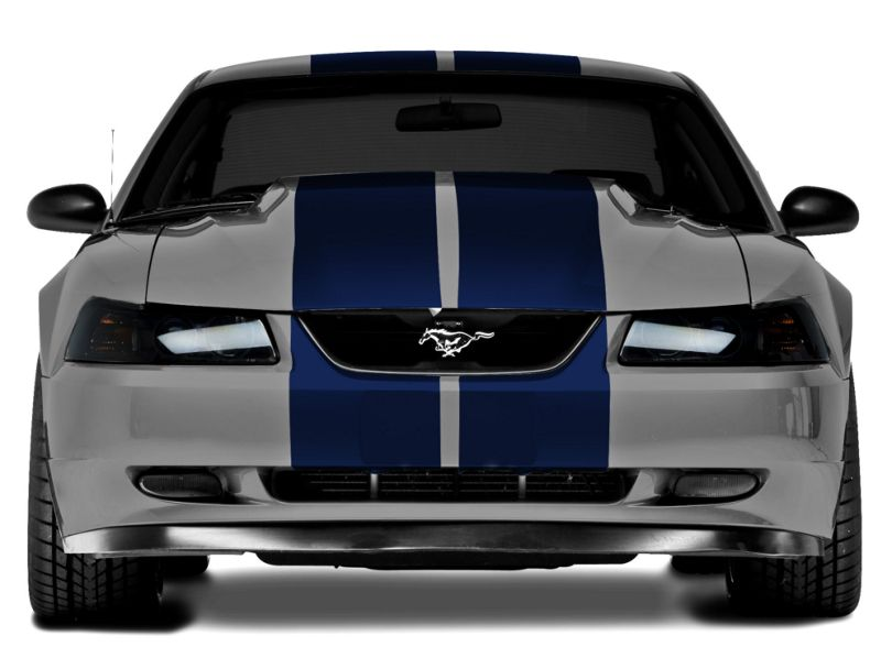American Muscle Graphics Lemans Stripes; Blue; 12-Inch (94-04 All)